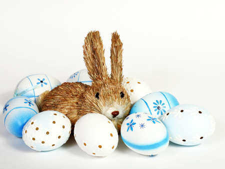 cutie: cutie and easter egg Stock Photo