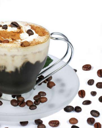 tarde de cafe: tarde de caf�  Foto de archivo