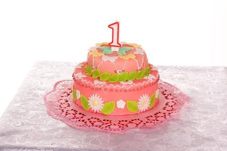 marzipan: birthday cake