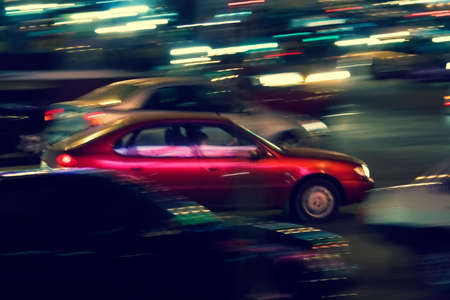 brisk: The brisk night movement at centre of the big city