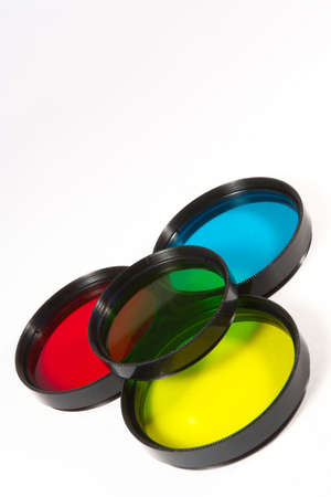 Set of creative and conversion filters for SLR camera photo