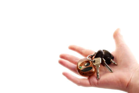 Car keys as a dream and  symbol of well-being photo