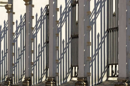 Shadow as an architectural ornament photo