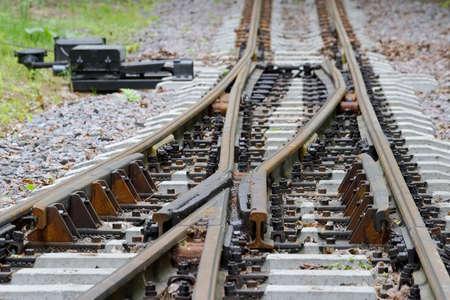 transposition: crossroad of railway permanent way