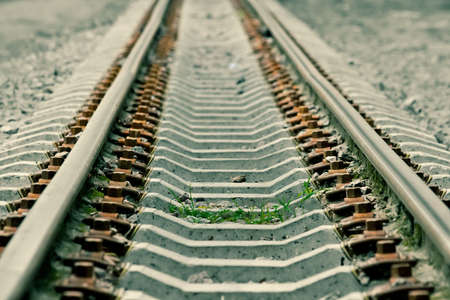 transposition: On the thrown railway the grass grows