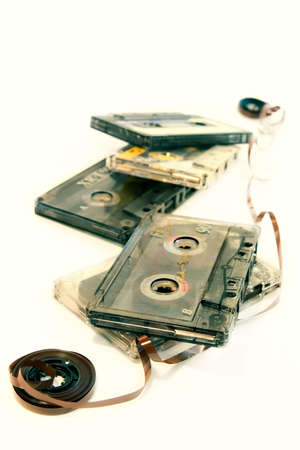 Old cassette music-sentimental stuff photo