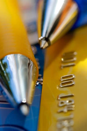 Credit card-financial background Stock Photo - 500937