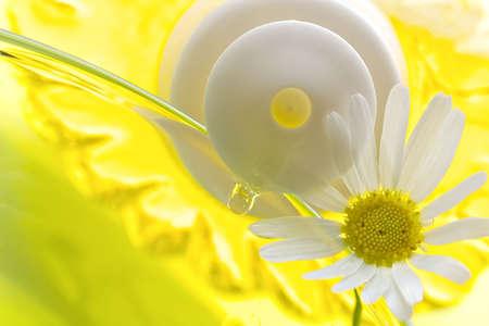 weariness: Espuma de un ba�o con manzanilla, para la eliminaci�n de estr�s y cansancio