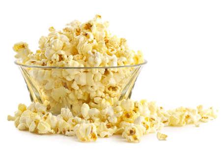 palomitas de maiz: Adici�n palomita-fina salada al resto en un cine