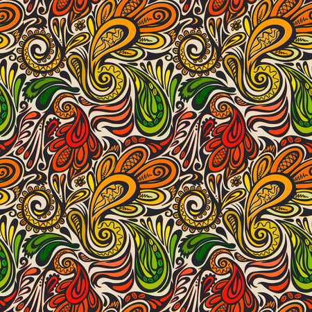 Paisley seamless pattern--model for design of gift packs, patterns fabric, wallpaper, web sites, etc. photo
