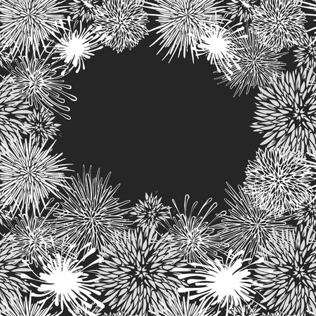 Abstract aster flower pattern-model for design of gift packs, patterns fabric, wallpaper, web sites, etc. photo
