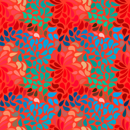 Seamless abstract floral pattern-model for design of gift packs, patterns fabric, wallpaper, web sites, etc. photo