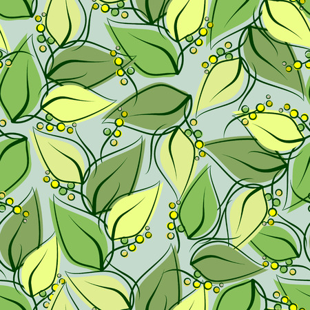 gift packs: Abstract seamless spring pattern-model for design of gift packs, patterns fabric, wallpaper, web sites, etc.