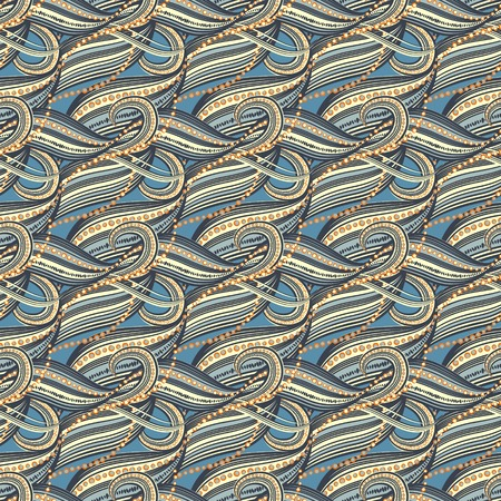 gift packs: Seamless abstract wave pattern-model for design of gift packs, patterns fabric, wallpaper, web sites, etc.