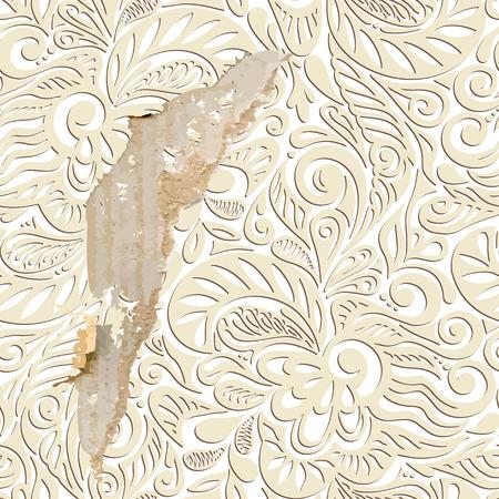 Shabby vintage wallpaper background-model for design of gift packs, patterns fabric, wallpaper, web sites, etc.