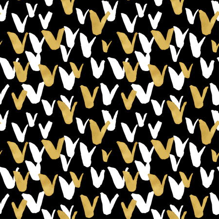 gold textures: Seamless trendy blog background textures with hand drawn gold and black ink design elements. Vector Eps10 illustration doodle sketch
