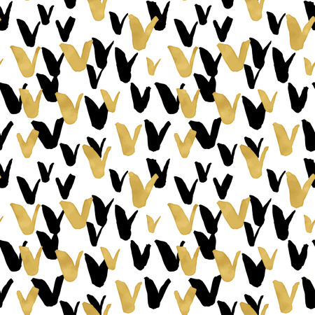 fabric texture: Seamless trendy blog background textures with hand drawn gold and black ink design elements. Vector Eps10 illustration doodle sketch