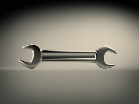 hand wrench: 3d Hand wrench tool