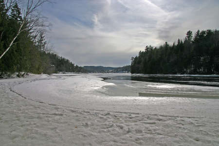 thawing: Thawing River