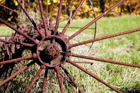 oxidado: Rusty Wheel