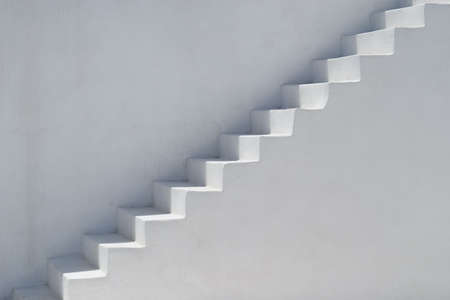ascend: Ascending stairs Stock Photo