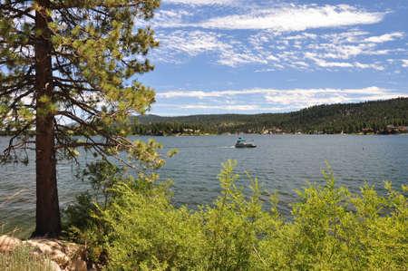bernardino: Californias Big Bear Lake in the summertime.