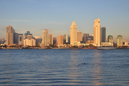 View of the downtown San Diego, California skyline. photo