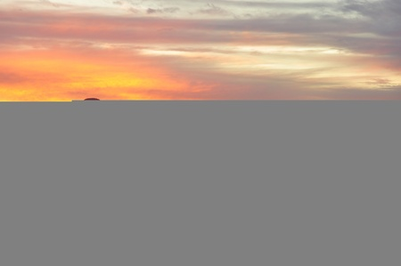 sunsets: Pastel colors fill the sky at sunset above Mystic Lake in Southern California.