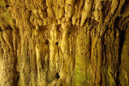 stalactites: mystic stalactites in grotto, background