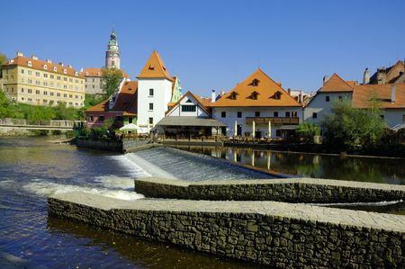 The town of Cesky Krumlov is more and more turning into the final destination of thousands of visitors from our own country and abroad. This is no wonder, as it has been preserved as a mediaeval architectonical historical monument even now and is pictures photo