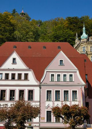 karlovy: Carlsbad (Karlovy Vary) is the biggest spa town in the Czech Republic and was founded in 1358 by Charles IV, Czech king and Emperor of the Holy Roman Empire.