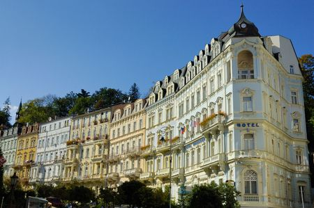 karlovy vary: Carlsbad (Karlovy Vary) is the biggest spa town in the Czech Republic and was founded in 1358 by Charles IV, Czech king and Emperor of the Holy Roman Empire.