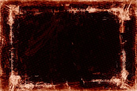 Textured Grunge Background with border  frame
