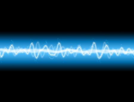 electrify: A sound wave or energy wave  background