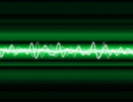 zelektryzować: A fala dźwięku lub energii fal tle