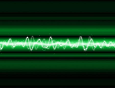 electrocute: A sound wave or energy wave  background