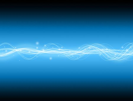 A glowing energy wave background. good for technology type backgrounds.