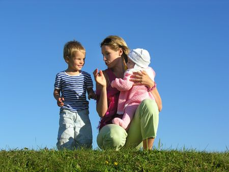 mother with children 2 Stock Photo - 259592