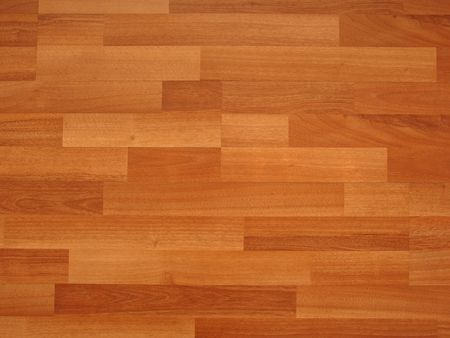 underlay: laminated flooring Stock Photo