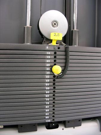 anaerobic: part of fitness machine Stock Photo