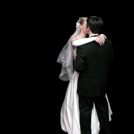 bride and groom dancing in the dark 3 photo