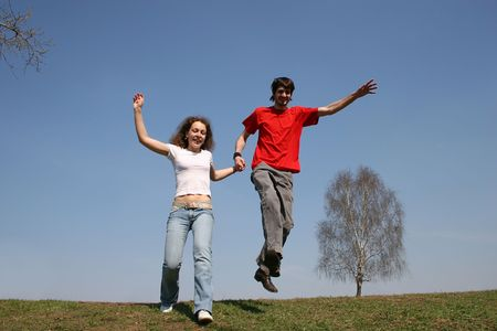 full strenght: running couple. spring.