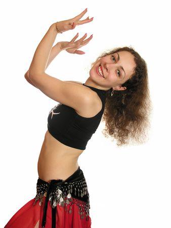 bailarinas arabes: - Danza del vientre  Foto de archivo
