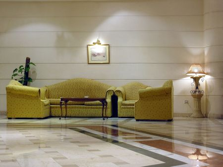 in the lobby Stock Photo - 423066