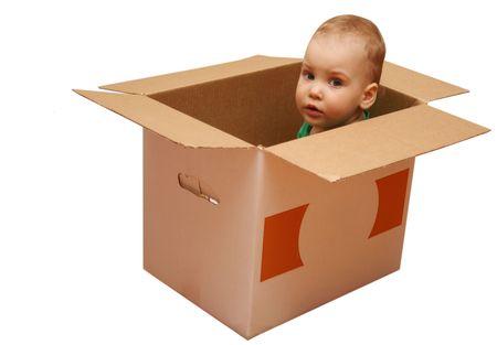 baby surprise box Stock Photo - 425068