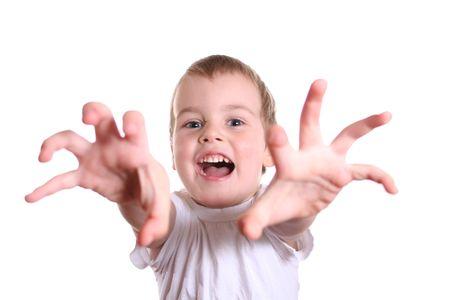 horror boy photo