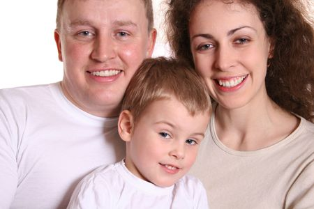 family with boy Stock Photo - 424992