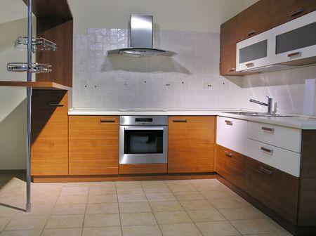 oven and range: kitchen 4 Stock Photo
