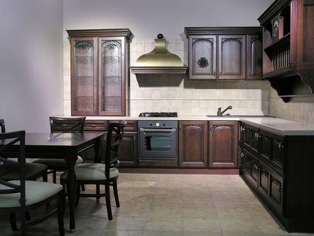 highend: cucina 6 Archivio Fotografico