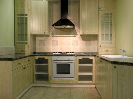 highend: Kitchen 1 Stock Photo
